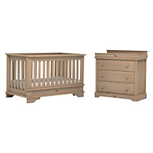Buy Boori Eton Cotbed & Dresser, Aged Natural Online at johnlewis.com