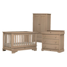 Buy Boori Eton Cupboard, Dresser and Cotbed Set, Natural Online at johnlewis.com
