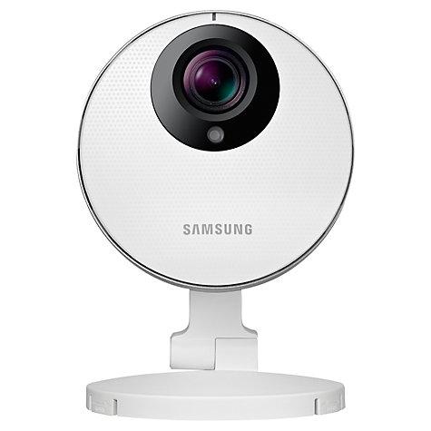 buy samsung full 1080p hd wifi baby monitor smart camera john lewis. Black Bedroom Furniture Sets. Home Design Ideas