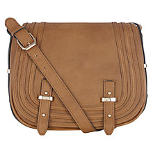 Buy Warehouse Stitch Detail Satchel Bag Online at johnlewis.com
