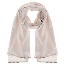 Buy Coast Milly Metallic Wrap, Blush Online at johnlewis.com