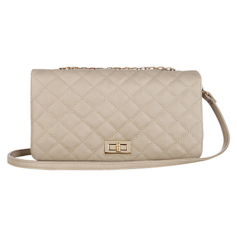 Buy Oasis Capni Quilted Across Body Bag Online at johnlewis.com