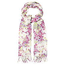 Buy White Stuff Get Lucky Butterfly Scarf, Multi Online at johnlewis.com