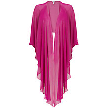 Buy Gina Bacconi Chiffon Shawl, Fuschia Online at johnlewis.com