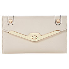 Buy Dune Kristen Metal Frame Purse, Light Pink Online at johnlewis.com