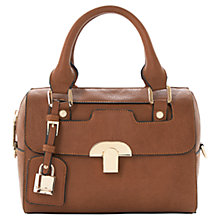 Buy Dune Dinidarreline Mini Padlock Barrel Bag Online at johnlewis.com