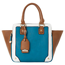 Buy Dune Dazhand Winged Tote Bag, Teal Online at johnlewis.com