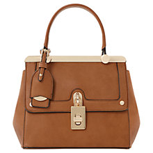 Buy Dune Dinidramey Mini Frame Shoulder Bag, Tan Online at johnlewis.com