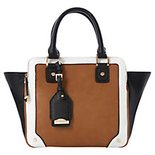 Buy Dune Dazhand Winged Tote Bag, Tan Online at johnlewis.com