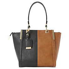 Buy Dune Dancer Colour Block Tote Bag, Tan Online at johnlewis.com