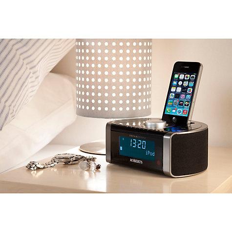 buy roberts dreamdock2 dab dab fm digital clock radio. Black Bedroom Furniture Sets. Home Design Ideas