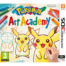 Buy Pokemon Art Academy, 3DS Online at johnlewis.com