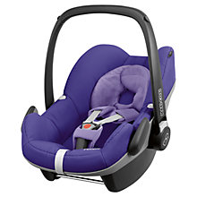 Buy Maxi-Cosi Pebble Infant Carrier, Purple Pace Online at johnlewis.com