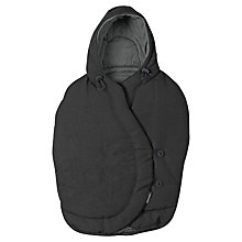 Buy Maxi-Cosi Pebble Footmuff, Modern Black Online at johnlewis.com
