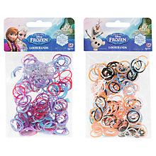 Buy Disney Frozen Loom Bands, Pack of 200, Assorted Online at johnlewis.com