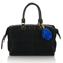 Buy Paul's Boutique Porter Slouchy Leather Bowling Bag Online at johnlewis.com