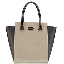 Buy Paul's Boutique Mila Patent Tote Bag Online at johnlewis.com