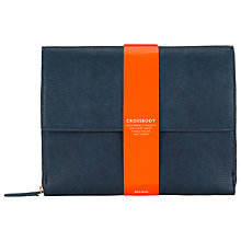 Buy COLLECTION by John Lewis Perfect Large Across Body Bag, Navy Online at johnlewis.com