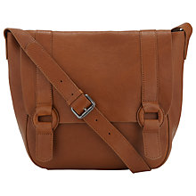 Buy Collection WEEKEND by John Lewis Dania Leather Satchel Bag Online at johnlewis.com