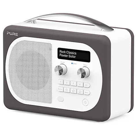 buy pure evoke d4 mio dab fm bluetooth radio john lewis. Black Bedroom Furniture Sets. Home Design Ideas