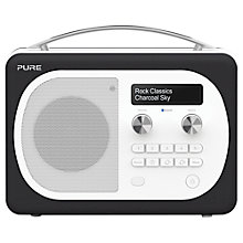 Buy Pure Evoke D4 Mio DAB/FM Bluetooth Radio, Charcoal + F1 ChargePAK Online at johnlewis.com