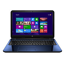 "Buy HP 15-r034na Laptop, Intel Core i3, 4GB RAM, 1TB, 15.6"", Revolutionary Blue + Norton 360 Online at johnlewis.com"