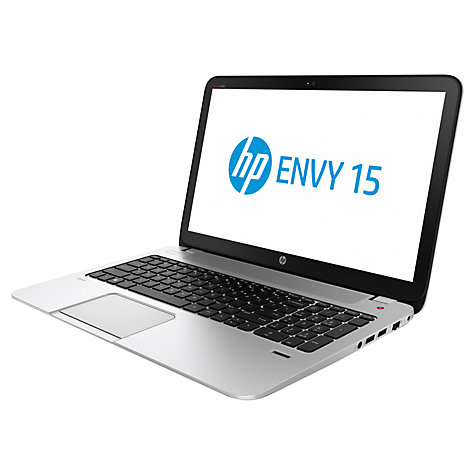 "Buy HP Envy 15-j140na Laptop, Intel Core i5, 8GB RAM, 1TB, 15.6"", Natural Silver Online at johnlewis.com"