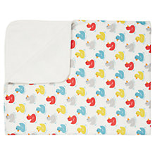 Buy Cath Kidston Rubber Ducks Pram Blanket, Cream Online at johnlewis.com