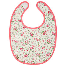 Buy Cath Kidston Bramley Spring Bib, Cream Online at johnlewis.com