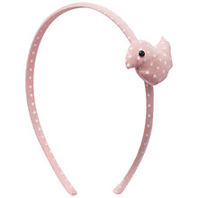 Buy John Lewis Girl Polka Dot Bird Alice Band Online at johnlewis.com