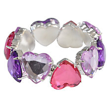 Buy John Lewis Translucent Heart Bracelet Online at johnlewis.com