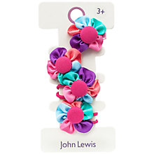 Buy John Lewis Trans Fabric Hair-set, Multi Online at johnlewis.com