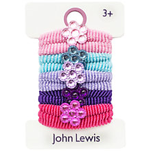 Buy John Lewis Flower Hairbands, Multi Online at johnlewis.com