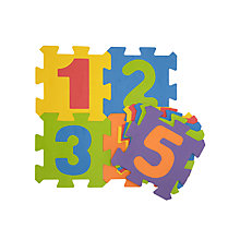 Buy John Lewis Small Numbers Foam Mat, Multi Online at johnlewis.com