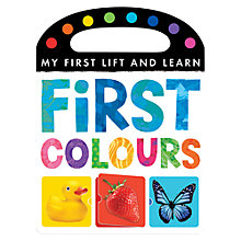 Buy My First Lift & Learn: First Colours Book Online at johnlewis.com