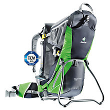 Buy Deuter Kid Comfort Air Child Carrier, Graphite Spring Online at johnlewis.com