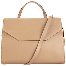 Buy COLLECTION by John Lewis Loren Leather Flap Tote Bag Online at johnlewis.com