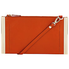 Buy COLLECTION by John Lewis Mia Leather Gold Bar Across Body Bag Online at johnlewis.com