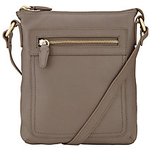 Buy John Lewis Carlyle Small Square Leather Acrossbody Bag Online at johnlewis.com