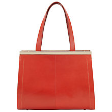 Buy COLLECTION by John Lewis Bria Leather Gbar Tote Bag Online at johnlewis.com