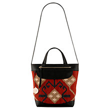 Buy No 1 Radley London Greenwich Medium Leather Multiway Bag, Multi Red Online at johnlewis.com