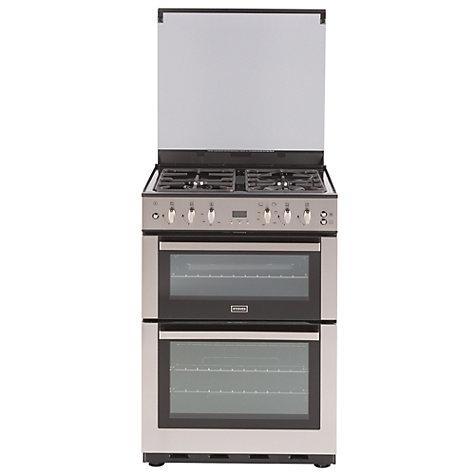 buy stoves sfg60dop fanned gas cooker stainless steel. Black Bedroom Furniture Sets. Home Design Ideas