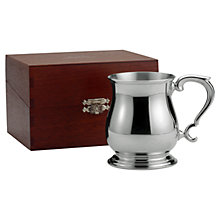 Buy Royal Selangor Polished Bell Tankard Online at johnlewis.com