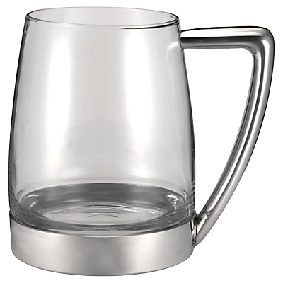 Royal Selangor Modern Glass and Pewter Tankard