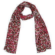 Buy Viyella Brushstroke Printed Scarf, Sunset Online at johnlewis.com