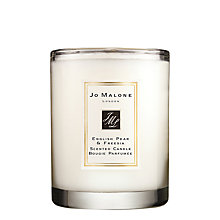 Buy Jo Malone London English Pear & Fressia Travel Candle Online at johnlewis.com