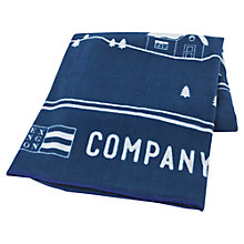 Buy Lexington The Fall Collection Snow Scene Fleece Throw Online at johnlewis.com