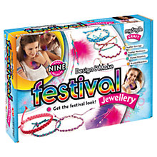 Buy myStyle Design & Make Festival Jewellery Kit Online at johnlewis.com