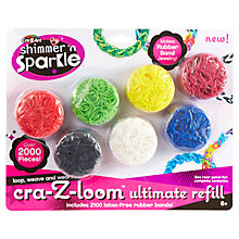 Buy Cra-Z-Art Looms Ultimate Refill Pack Online at johnlewis.com