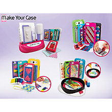 Buy Make Your Case Phone and iPod Spin Art Design Kit, Assorted Online at johnlewis.com